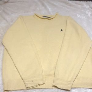 Polo Ralph Lauren Yellow Sweater Size Large